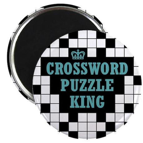 Crossword King Magnet