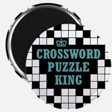 Crossword King Magnet