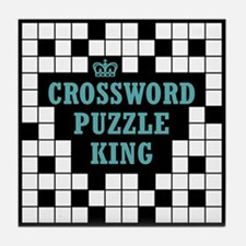 Crossword King Tile Coaster