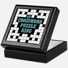 Crossword King Keepsake Box