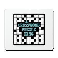 Crossword King Mousepad