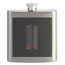 low battery Flask