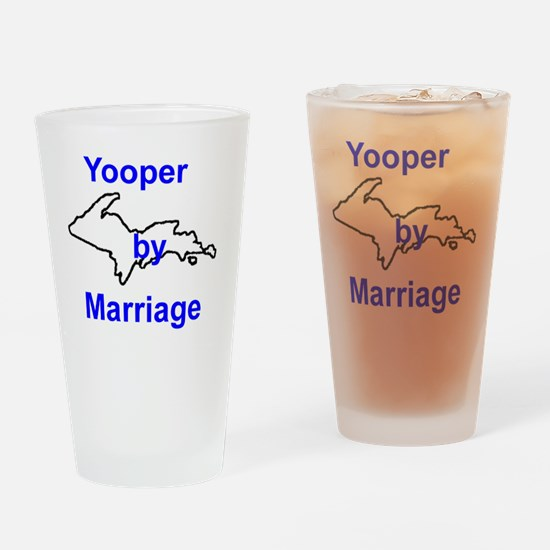 MarriageGuy Drinking Glass