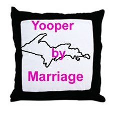 MarriageGirl Throw Pillow