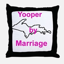 MarriageGirl Throw Pillow