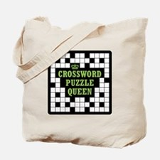 Crossword Queen Tote Bag