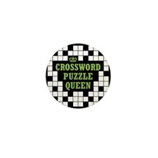 Crossword Queen Mini Button