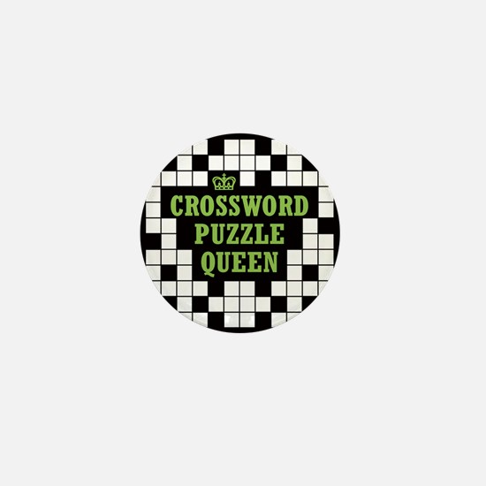 Crossword Queen Mini Button