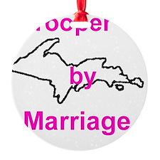 MarriageGirl Ornament