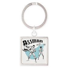 assman2-LTT Square Keychain