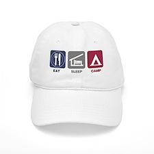 EatSleep_Camp Baseball Cap