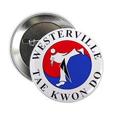 """WTKD 2-D Logo 2.25"""" Button"""