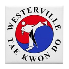 WTKD 2-D Logo Tile Coaster