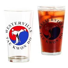 WTKD 2-D Logo Drinking Glass