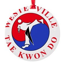 WTKD 2-D Logo 6inch Red Ornament