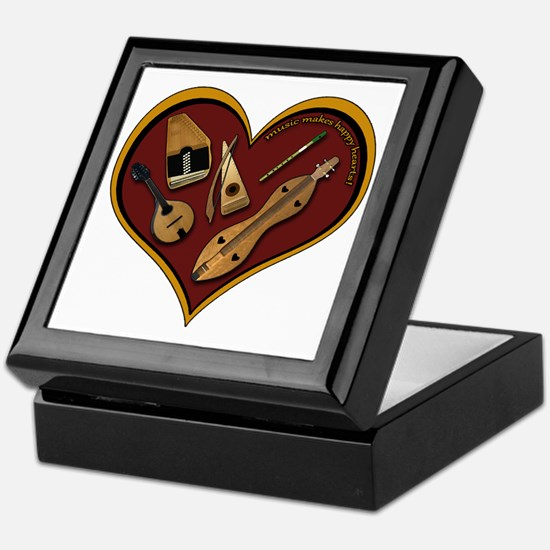 heart patch for cafe press shadow cop Keepsake Box
