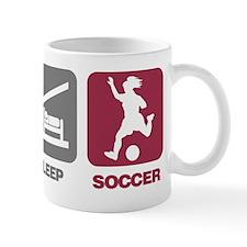 EatSleep_SoccerGirl Mug