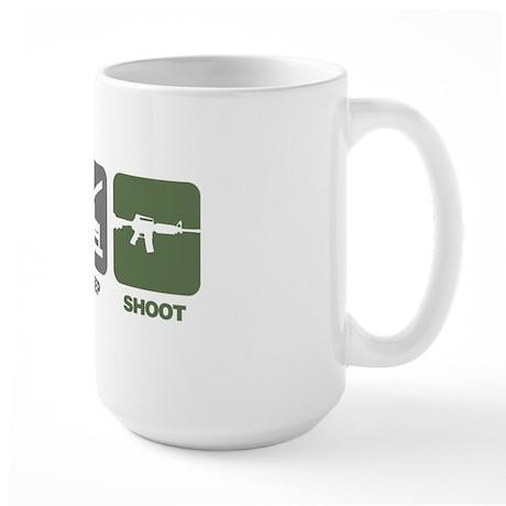 EatSleep_Shoot Large Mug