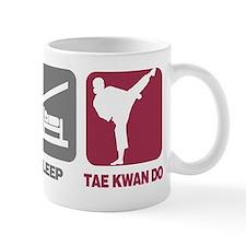 EatSleep_TaeKwanDoGirl Mug