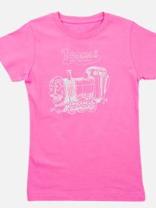 Toomas_the_tank_engine_for_black_shirt Girl's Tee