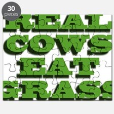 Real Cows Eat Grass Puzzle
