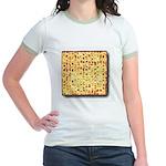 Passover Matzoh Jr. Ringer T-Shirt