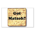 Got Matzoh? Rectangle Sticker