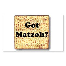 Got Matzoh? Rectangle Decal