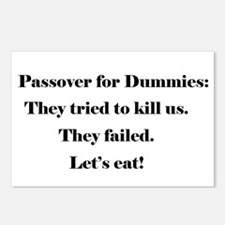 Passover For Dummies Postcards (Package of 8)