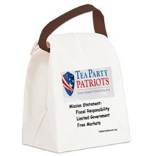 tppatriots2 Canvas Lunch Bag