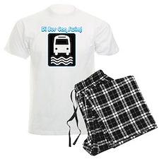 Di bus can swim-1 Pajamas