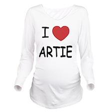 ARTIE Long Sleeve Maternity T-Shirt