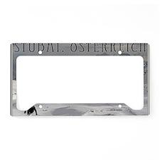 Stubai - Austria License Plate Holder