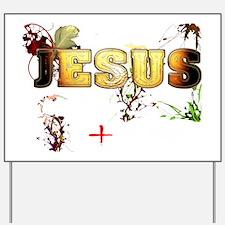 JESUS - HD Yard Sign