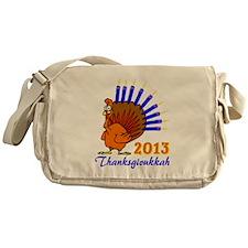 Thanksgivukkah 2013 Menurkey Messenger Bag