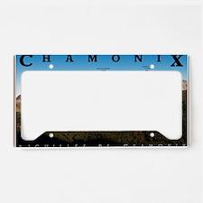 Aiguilles de Chamonix License Plate Holder