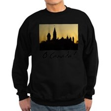 ParliamentBuildings-blackLetters Sweatshirt