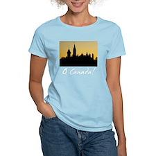 ParliamentBuildings-whiteLet T-Shirt