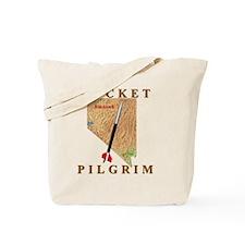 Rocket_Pilgrim_front_10x10 Tote Bag