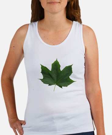 O-Canada-1-white-letters-border c Women's Tank Top