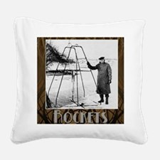 Rockets_Nouveau_10x10 Square Canvas Pillow