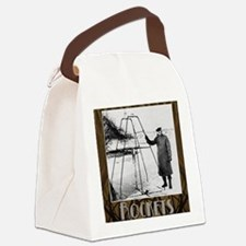Rockets_Nouveau_10x10 Canvas Lunch Bag