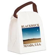 Rocket_Pilgrim_back_10x10 Canvas Lunch Bag