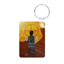 White Buffalo Visions Keychains