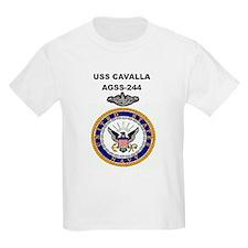 USS CAVALLA Kids T-Shirt