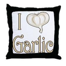 Iheartgarlic Throw Pillow