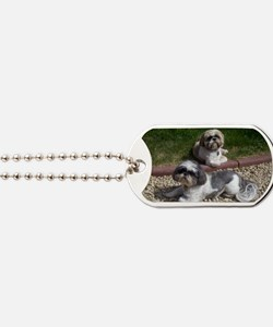 Puppies_outside Dog Tags