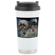 Puppies_on_bed Travel Mug
