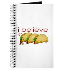 I believe in Tacos Journal