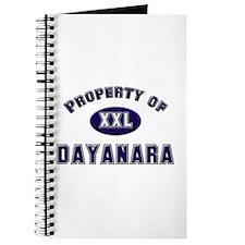Property of dayanara Journal